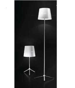 Lampada da tavolo e piantana Camilla