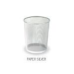 Cestino per uffici - Silver